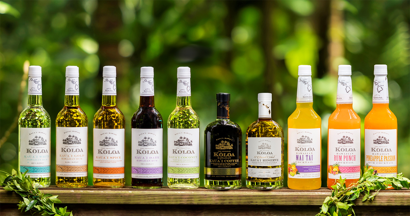 Koloa Rum Company, Hawaii | Premium Small Batch Rum
