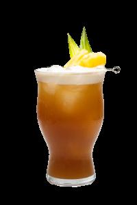 Pineapple Coffee Fizz